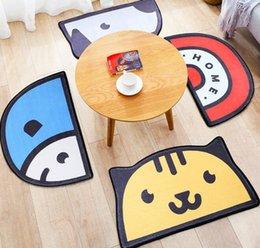 $enCountryForm.capitalKeyWord Australia - Cartoon Cat Dog Shape Carpet Cut Cartoon Rug for Living Room Bath Mat Modern Bathroom Rugs 50*80cm