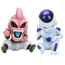Buu Figure Australia - 12cm Anime Dragon Ball Fighter Z Majin Buu PVC Action Figure Toys Model Kid Buu Freeza frieza Dragon Ball Action Figure