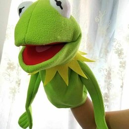 sesame toys NZ - Sesame Street The Muppet Show Large 60cm Kermit frog Puppets plush toy doll stuffed toys For kids Christmas Gift