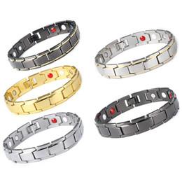 Hot Sale Twisted Stainless Steel Bracelet for Women Geometric Black Square Link Bracelets Bangles Men Fashion Jewelry Wholesale on Sale