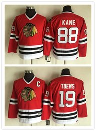 019852844 Hot Sale Youth Chicago Blackhawks 19 Jonathan Toews Red CCM Vintage NHL  Jerseys 88 Patrick Kane Stitched Ice Hockey Jersey