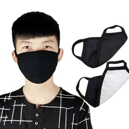 anti pollution mask wholesale Canada - Face Mouth Mask Cotton Dust Earloop Mask Reusable For Men Women Anti Pollution