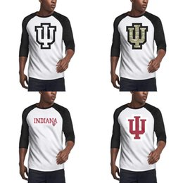 Usa basketball shirts online shopping - Men Slim fit T shirt Custom Casual T shirt Tops Indiana Hoosiers Basketball logo black Coconut tree camouflage Core Smoke Gay pride USA