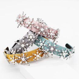 $enCountryForm.capitalKeyWord Australia - New Fashion Simple Stars Pearl Geometry Multicolor Headband Street Dance Party Travel Show Hair Accessories 952 MX190816
