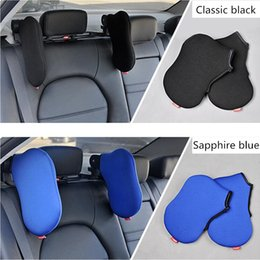 neck headrest for car seat Canada - Car Seat Headrest Travel Rest Neck Pillow Support Solution For Kids And Adults Children Auto Seat Head Cushion Car Pillow