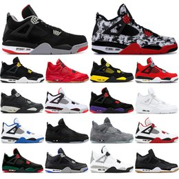 $enCountryForm.capitalKeyWord Australia - With socks 2019 High Quality 4 4s Basketball Shoes BRED ROYALTY tattoo BLACK CAT ALTERNAT MOTORSPORT Men Sports Sneakers Shoes size 40-47