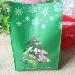 kraft christmas bag Australia - 50pcs Merry Christmas Kraft Paper Bag Cookie Packaging Bags for Biscuits Snack Candy Christmas Party Decoration