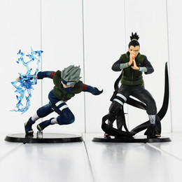 $enCountryForm.capitalKeyWord Australia - 2Styles Hatake Kakashi Nara Shikamaru PVC Action Figure Toys NarutoCollectible Model Dolls 12-15cm