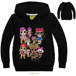 Chinese  Surprise Girls Boy Cartoon Hoodie Autumn Spring Kids Long Sleeve Sweatshirts Fashion Children Outwear Pullover Top Clothing Hoody Tops manufacturers
