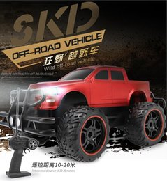 $enCountryForm.capitalKeyWord Australia - Child car model big foot off-road remote control car electric resistance to fall anti-pressure off-road vehicle toy boy