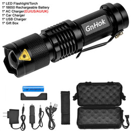 $enCountryForm.capitalKeyWord Australia - GnHok Mini Zoom cree XML-T6  L2 led Flashlight Led Torch 5 mode 3800 Lumens waterproof 18650 Rechargeable battery