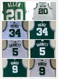$enCountryForm.capitalKeyWord Australia - NCAA College Basketball Jerseys year 2008 boston 20 ALLEN paul 34 pierce kevin 5 garnett 9 rondo green white Jerseys stitched S-5XL