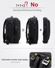 $enCountryForm.capitalKeyWord Australia - Disassemble Multifunction 17 inch Laptop Backpacks For Teenager Business Male Mochila Men Travel Backpack Bag A-50