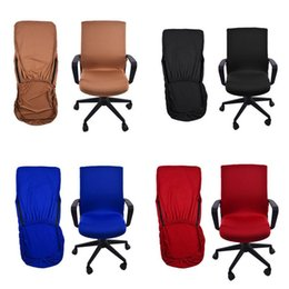 $enCountryForm.capitalKeyWord Australia - Office Chair Cover Swivel Chair Computer Armchair Protector Executive Task Slipcover Internet Bar Back Seat Cover #SO