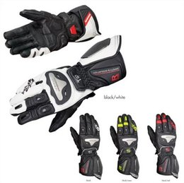 titanium gloves 2019 - komine gk169 automobile gk169 automobile race motorcycle genuine leather gloves ride titanium alloy GK-169 glove high qu