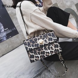 Red Leopard Print Clutch Bag Australia - 2019 Retro Leopard Print Women Handbag Retro Shoulder Messenger Bag High Quality Dinner Handbag Bag Clutch Mobile Phone