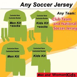 jersey soccer club Canada - Link for Ordering Any Club Team and National Soccer Jersey Adult Man and Woman and Kids Kit (Pleaase contact us before making your order)
