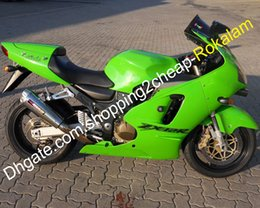 zx12r ninja fairing kit NZ - ZX12R Complete Set Fairing For Kawasaki Ninja ZX-12R 00 01 ZX 12R 2000 2001 Popular Green ABS Bodywork Cowling Kits (Injection molding)