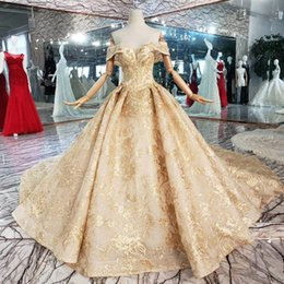 Backless Prom Dress Patterns Australia - 2019 Latest Lebanon Evening Dresses Sweetheart Neck Short Sleeve Backless Lace Up Back Hand Made 3D Gold Pattern Applique Sequins Prom Gowns