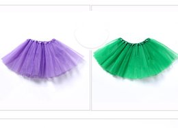wholesale tutus Australia - New Childrens Mesh Tutu Skirt Support Selling Polyester Skirt Candy Color Pure Color Classic Tutu Skirt For Children