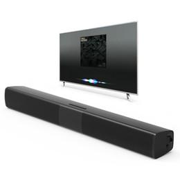 venda por atacado Novo BS-28B TV Bluetooth Speaker 20 W Soundbar Home Theater Subwoofer Sem Fio Surround 3D Estéreo Baixo Alto-falantes Portáteis Para O Telefone