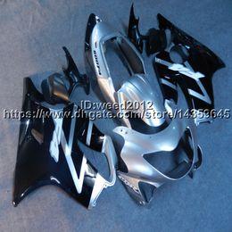 Honda F4 Australia - 23colors+Custom Injection mold black silver motorcycle cowl for HONDA CBR600F4 1999-2000 CBR 600 F4 ABS motorcycle Fairings