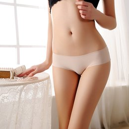 0e63c22a931 Women Lady Sexy White Black Lace Panties Soft Ultra-Thin Low-waist Panties  Low-waisted Underwear Seamless Briefs One Size