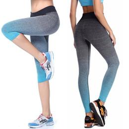 89d8e7d4f9da Capri Leggings Australia - Women Yoga Sport Leggings Summer Capri Pants For  Running Fitness Gym Clothes
