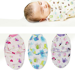 $enCountryForm.capitalKeyWord Australia - Fashion New Dual-layer Newborn Baby Wrap Swaddle Blanket Breathable Infant Sleeping Bag New Fashion Baby Bedding