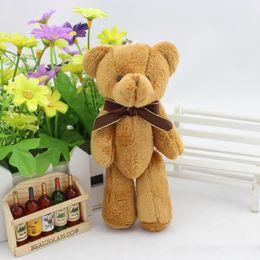 Mini Bear Bouquet Australia - Kid Toys Tsum Tsum Plush Doll Reborn 11cm Mini Super Kawaii Teddy Bear Animal Stuffed Plush Dolls Bouquet Decor