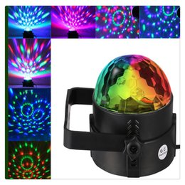 $enCountryForm.capitalKeyWord Australia - Party Decor Disco Ball Light Remote Control RGB Party Mini LED Lamp 7 Colors Sound Actived Crystal Magic Stage Light for Club Portable