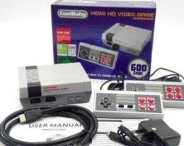 HDMI Mini Classique Consoles De Jeux TV CoolBaby 600 Modèle Vidéo Joueur De Jeux Pour 600 NES HD Console de Jeux Anniversaire Noël Cadeau De Noël vente chaude