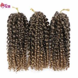 Discount kinky braids marley - Malibob Crochet Hair 8inch Kinky Curly Crochet Braids Synthetic Marlibob Braids Hair Extension Marlybob Bug 3pcs Lot Mar