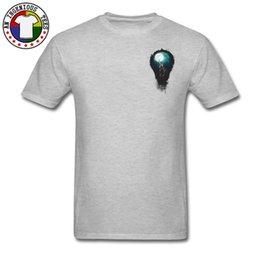 981017b9 Mens luxury brand designer t shirts Men's Red Fashion Novelty Tshirts  American Statue of Liberty Bulb Light Create T Shirts Summer Tshirt