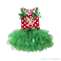 $enCountryForm.capitalKeyWord Australia - Christmas Dress For Party Girls Clothes Lace Tutu Tulle Girls Dress Polka Dots Festival Clothing Fancy Girls Clothes Events Children Frocks