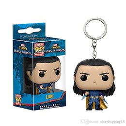 $enCountryForm.capitalKeyWord Australia - low price Discout hot sell Funko Pocket POP Keychain - Black Panther Vinyl Figure Keyring with Box Toy Gift Good Quality Free Shipping