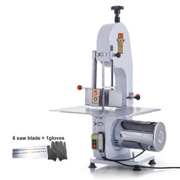 meat blades Canada - BEIJAMEI 1500W band saw frozen fish cutting machine saw blade sharpening machine commercial meat bone saw cutter