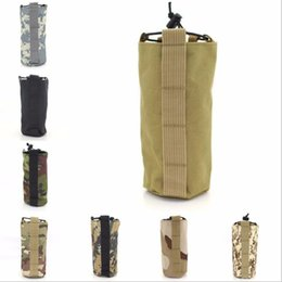 $enCountryForm.capitalKeyWord Australia - 800D outdoor tactical kettle bag army fan camping open top water bottle bag Molle army fan outdoor kettle bag