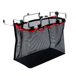 net kits Australia - Portable Barbecue Kit Accessories Outdoor Camping Kitchen Folding Table Hanging Debris Iron Rack Storage Net Bag 1PC 77