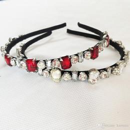 Crystal Headbands Australia - New Hairband Baroque Luxury Crystal Headband Brand Headdress Fashion Pearl Hair Jewelry for Women free shipping