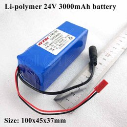 Lipo Packs NZ - GTK 24v 3ah battery pack lithium polymer lipo 24v 3000mah li-ion audio equipment loud speaker device instrument + 2A charger