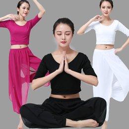 118f1339e7309 2018 New yoga suit, women's suit, modal cotton, yoga fitness wear sports.