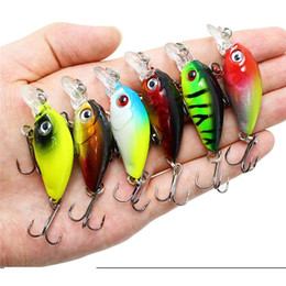Japan Fishing Lures Wholesale Australia - Hot Selling Crankbait Fishing Lures Artificial Hard Crank Baits Bass Wobblers Japan Fishing Baits Topwater Minnow Floating Lures 45mm 4.1g