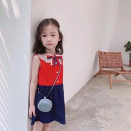 Hot! 2019 novo verão bebê meninas vestido de algodão da criança crianças dress linda roupas ruffles festa vestidos vermelhos