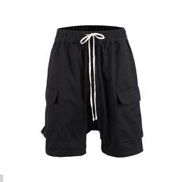 Chinese  Hi Streetwear Ro stylish black Low Dro Crotch cargo shorts manufacturers