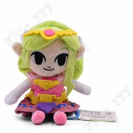 Wholesale Kawaii cm Zelda Princess Cartoon Anime Plush Toys For Children Peluche Soft Stuffed Dolls Gift For Kids Christmas