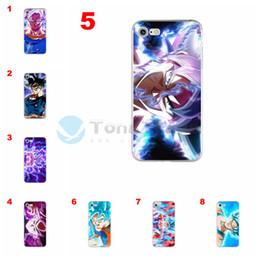 $enCountryForm.capitalKeyWord NZ - [TongTrade] Creative Dragon Ball Super Anime Comic Son Goku Kakarotto Case For iPhone XS Max XR X 8 7 6 6s Plus Case Tempered Glass Soft TPU