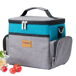 $enCountryForm.capitalKeyWord Australia - Cooler Bags Tote Protable Shoulder Oxford Drink Ice Pack Thermal lunch Pouch Travel Picnic Insulation Container Accessories