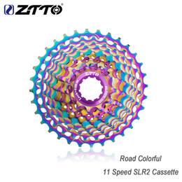 Bike Flywheel Australia - ZTTO Silver Colorful 9s 11S Cassette 11-28 T Freewheel Bicycle Parts 10s 20S 9Speed Flywheel for Road Bike