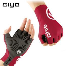 $enCountryForm.capitalKeyWord NZ - GIYO Anti Slip Gel Pad Bicycle Gloves Gel Pad Short Half Finger Cycling Gloves Breathable Outdoor Sports Men MTB Bikes Gloves C19011401